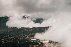 Piękna halna dolina w Baguio mieście, Luzon, Filipiny obraz stock