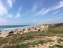 Piękna hiszpańska plaża Zdjęcie Stock
