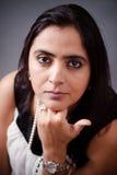 Piękna Indiańska kobieta Fotografia Stock