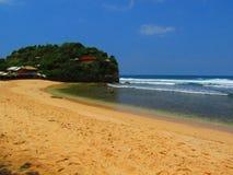Piękna Indrayanti plaża Obrazy Stock