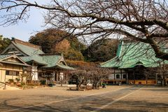Pi?kna japo?ska ?wi?tynia w Kamakura obrazy stock