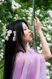 piękna japońska kobieta Obrazy Stock