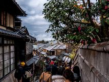 Piękna japońska ulica zdjęcia stock