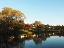 Piękna jesień w Deloraine, Tasmania, Australia obraz stock