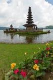 piękna jeziorna świątynia Zdjęcie Stock