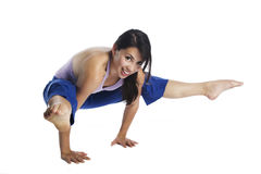 piękna joga obraz royalty free