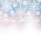 Piękna kartki bożonarodzeniowa granica Fotografia Royalty Free