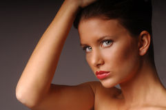 piękna kobieta Obrazy Royalty Free