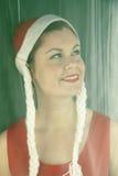 piękna kobieta biały Zdjęcie Royalty Free