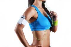 piękna kobieta fizyczny fitness zdjęcia royalty free