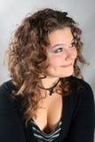 piękna kobieta kręcone włosy Obraz Royalty Free
