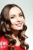 piękna kobieta model zdjęcia stock