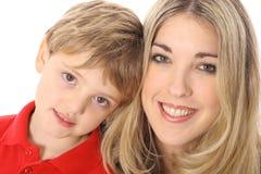 piękna kobieta pięknego dziecka fotografia royalty free