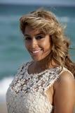 piękna kobieta plażowa Obraz Stock
