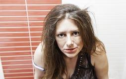Piękna kobieta poważna Zdjęcie Royalty Free