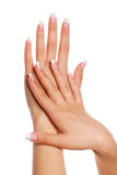 piękna kobieta ręce Obraz Stock