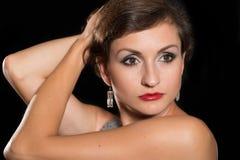 Piękna kobieta trzydzieści sześć rok Zdjęcie Royalty Free
