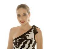 piękna kobieta uśmiechnięta Zdjęcia Stock