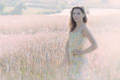 Piękna kobieta w życie Fotografia Stock