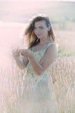 Piękna kobieta w życie Zdjęcia Stock