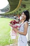 Piękna kobieta w miłości. Fotografia Stock