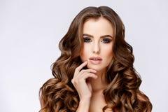 Piękna kobieta Z Czystą Świeżą skórą Fotografia Stock