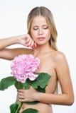 Piękna kobieta z zdrową i czystą skórą Fotografia Royalty Free