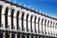 Piękna kolumnada zdjęcie stock