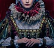 Piękna królowa Fotografia Royalty Free