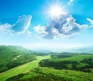 piękna krajobrazowa góra obraz stock