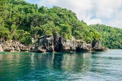 Piękna krajobrazowa sceneria w Filipiny fotografia royalty free