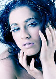 piękna księżniczka śnieg Fotografia Stock