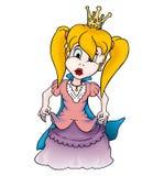 piękna księżniczka royalty ilustracja