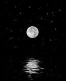 piękna księżyc Obrazy Royalty Free