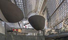 Piękna Kyoto stacja, Japonia obrazy royalty free