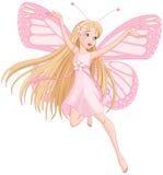 Piękna latająca czarodziejka Obraz Royalty Free
