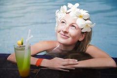 Piękna młoda blondynka Fotografia Stock