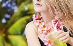 Piękna młoda blondynka Obraz Stock