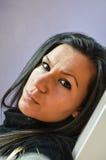 Piękna młoda brunetka Obraz Stock