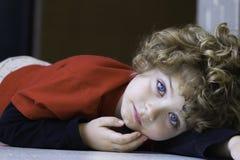 Piękna młoda chłopiec Obraz Stock