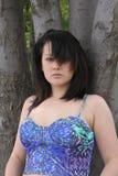 Piękna młoda dama Fotografia Royalty Free