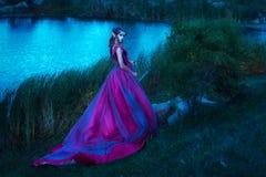 Piękna młoda elf kobieta Obraz Stock