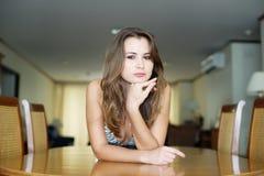 Piękna młoda kobieta. Obraz Stock
