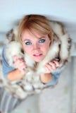 Piękna młoda kobieta. Zdjęcie Stock