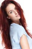 Piękna młoda rudzielec kobieta. obraz royalty free