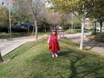Piękna mała dziewczynka Zdjęcia Royalty Free
