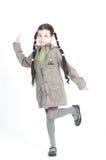 Piękna mała dziewczynka obrazy royalty free