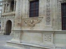 Piękna marszruta przez starego miasteczka Seville Hiszpania fotografia stock
