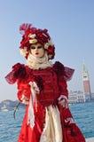 piękna maskowa czerwień Zdjęcie Stock