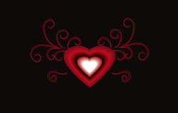 piękna miłości Zdjęcie Royalty Free